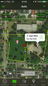 Map View with ROI